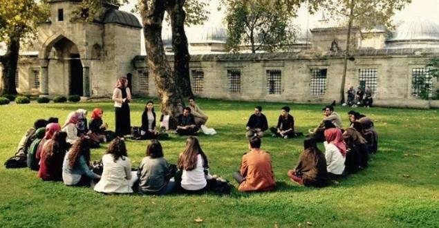 İstanbul Eczacılık Öğrencileri Tarihi Yarımada Gezisinde