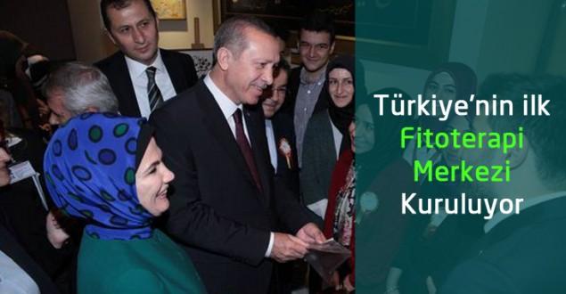 Türkiye'nin ilk Fitoterapi Merkezi Kuruluyor