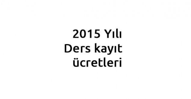 2015 Ders kayıt ücretleri, Danışman Onayı Ne zaman