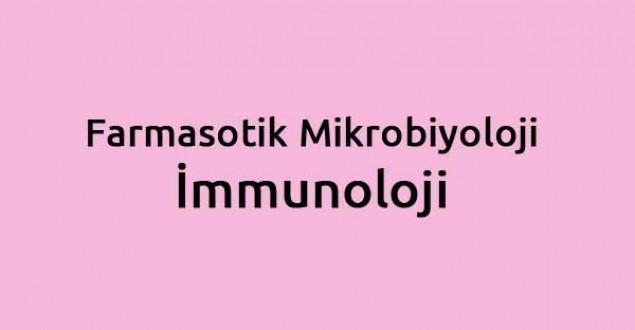 Farmasotik Mikrobiyoloji-İmmunoloji dersi hakkında