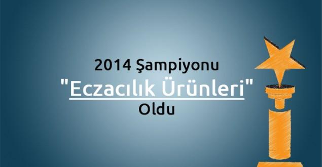 """2014 Şampiyonu """"Eczacılık Ürünleri"""" Oldu"""