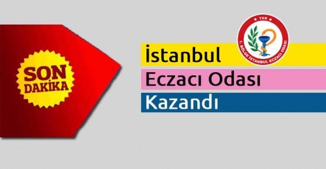 İstanbul Eczacı Odası Kazandı
