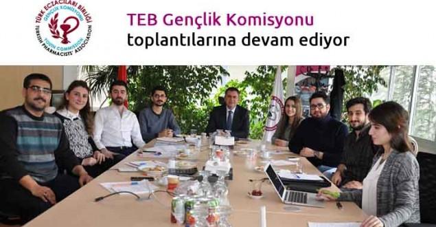 TEB Gençlik Komisyonu toplantılarına devam ediyor