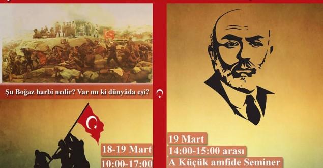 İstanbul Eczacılık Öğrencilerinden Çanakkale Sergisi