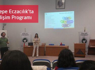 Yeditepe Eczacılık'ta E-Gelişim Programı