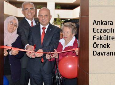 Ankara Eczacılık Fakültesi İlginç Bir Olaya Şahit Oldu