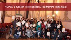 Marmara Eczacılık E-Gelişim Proje Döngüsü Programını Tamamladı