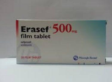 Erasef Film Tablet nedir? Ne için kullanılır?