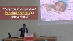 """""""Yeryüzü Konuşmaları"""" İstanbul Eczacılık'ta gerçekleşti"""