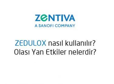 Zedulox ne için kullanılır? Zedulox yan etkileri? Zedulox fiyatı