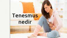 Tenesmus nedir, Tenesmus Hastalığı nedir, Tenesmus Tedavisi