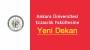 Ankara Eczacılığa Yeni Dekan