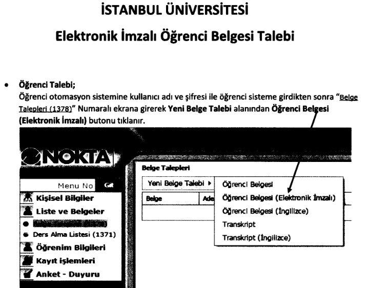 iu-otomasyon-imzalı-ogrenci-belgesi
