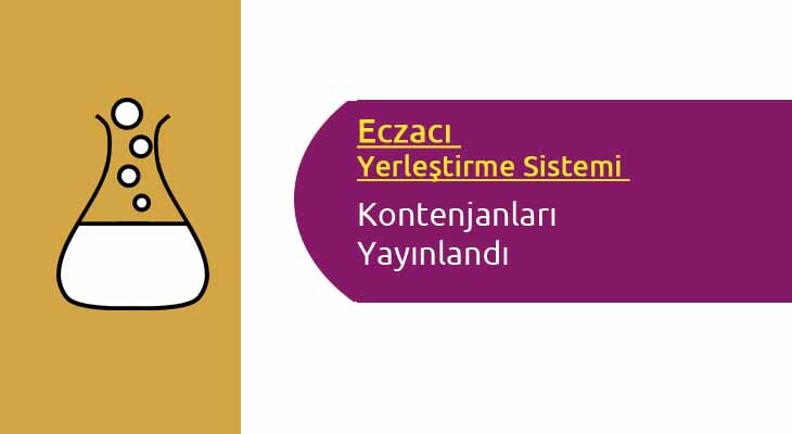 EYS-Eczacı Yerleştirme Sistemi Kontenjanları Yayınlandı