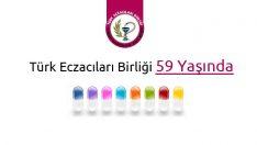 Türk Eczacıları Birliği 59 Yaşında