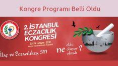 2. İstanbul Eczacılık Kongresi Kayıtları ve Program Akışı