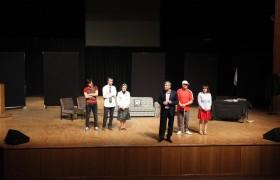 Atatürk Üniversitesi Eczacılık Fakültesi Engelliler Yararına Tiyatro Etkinliğine Katıldı