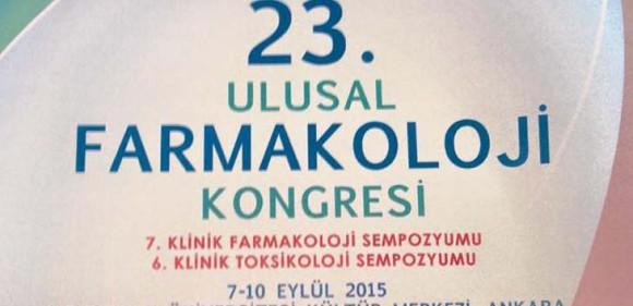 23. Ulusal Farmakoloji Kongresi