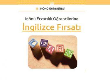 İnönü Eczacılık Öğrencilerine İngilizce Fırsatı