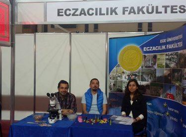 Ege Üniversitesi Eczacılık Fakültesi tanıtım standında!