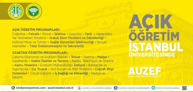 İstanbul Üniversitesi Aöf Taban Puanları 2015-2016