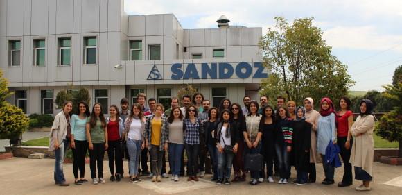 Ankara Eczacılık Öğrencileri Sandoz ve Nobel'i gezdi