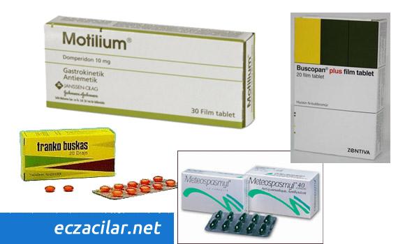 karın ağrısı ilaçları