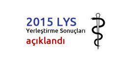 2015 LYS Yerleştirme Sonuçları açıklandı